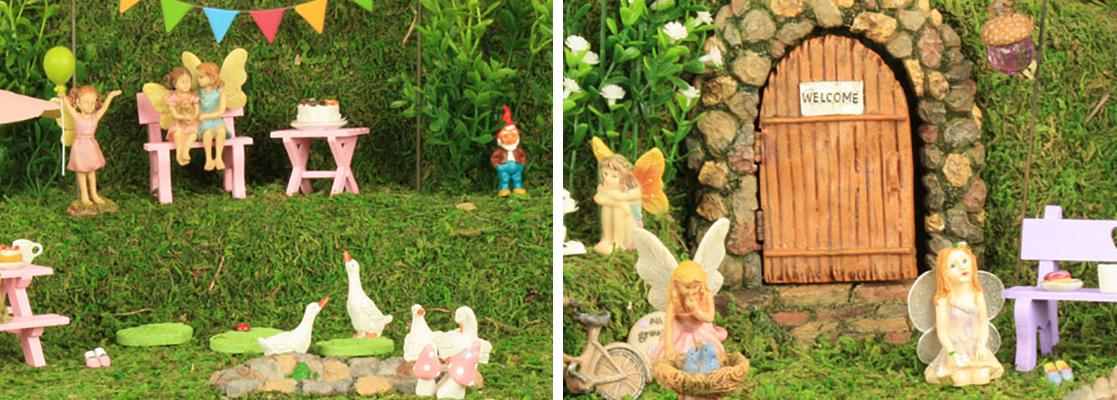 Fairy Gardens Handmade Miniatures The Fairy Garden by Jennifer