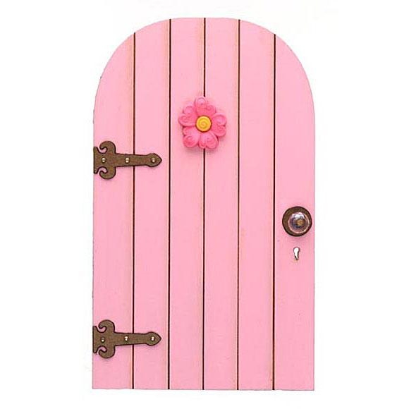 Flower fairy doors fairy garden accessory handmade by for Little fairy door accessories
