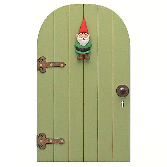 Elf or gnome door handmade by jennifer fairy garden accessory for Elf door accessories