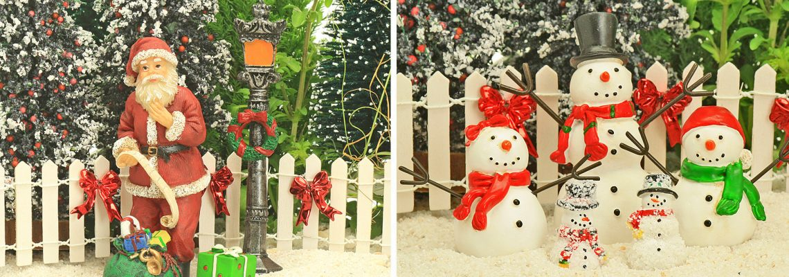 Fairy Gardens Christmas