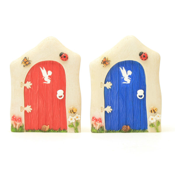 Little Red and Blue Bug Doors