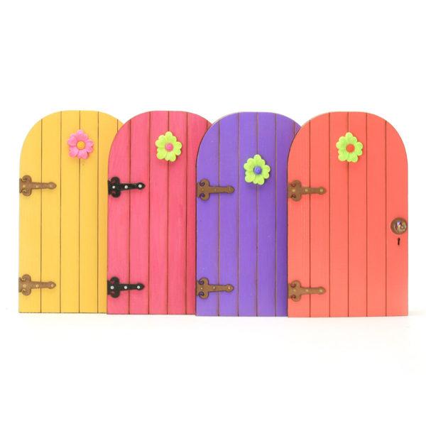 Fairy Door with Flower