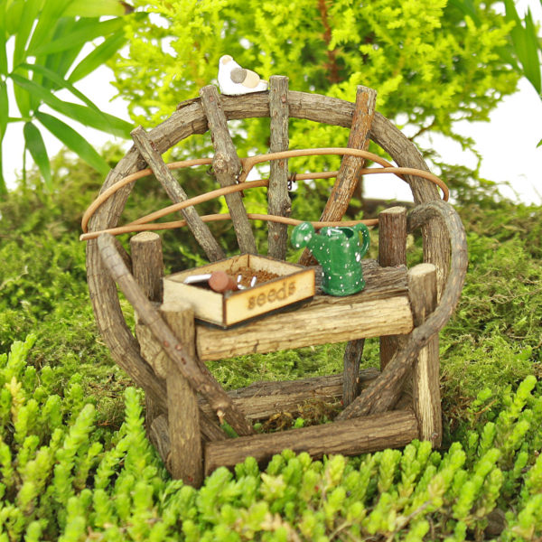 Twig Bench Gardening Collection