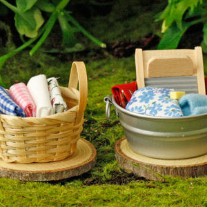 Basket - Fairy Garden Accessory