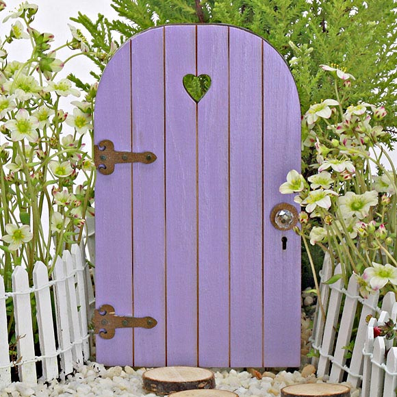 Sweetheart fairy door wooden fairy door the fairy garden for Little fairy door accessories