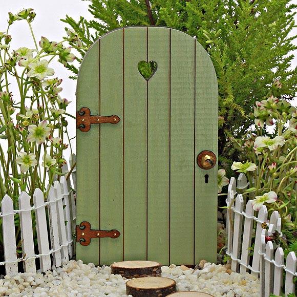 Sweetheart fairy door wooden fairy door the fairy garden for Fairy doors for sale