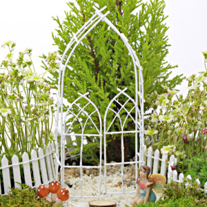 Arbour & Gate - White