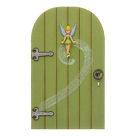 Bell door sc 1 st bunnings warehouse for Tinkerbell fairy door
