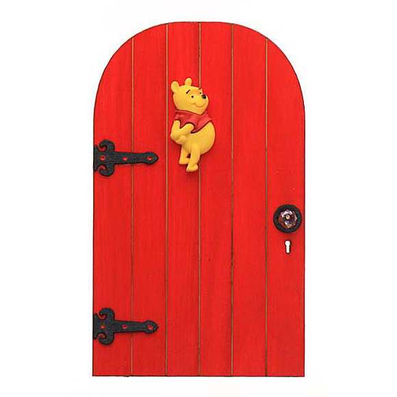 Pooh Bear Fairy Door