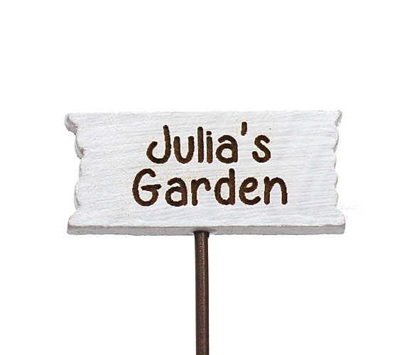 Personalised Sign .......Garden