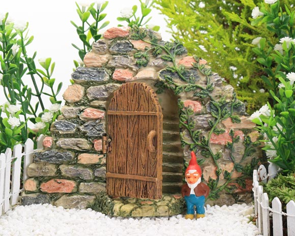Hidden Stone Stairway, Fairy Garden Accessory