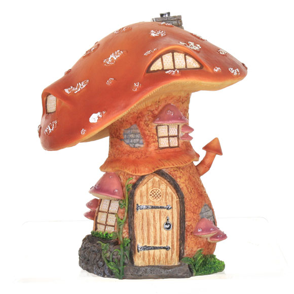 Rustic Toadstool Cottage, Fairy House