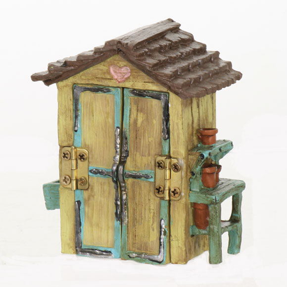 Garden Shed   Potting Shed   Fairy Garden Accessory