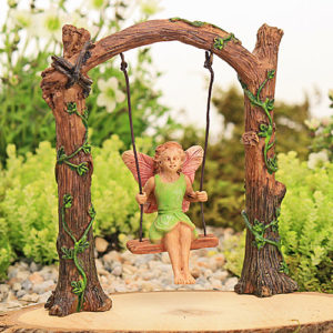 Arched Swing with Fairy