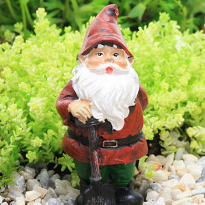 Gardening Gnome with Spade