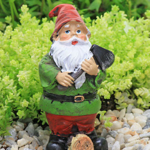Gardening Gnome with Axe