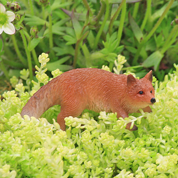 Prowling Fox - Fairy Garden Accessory