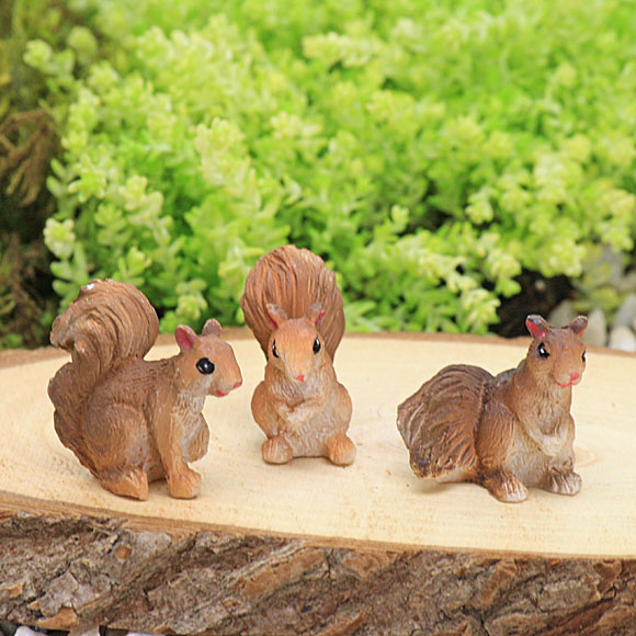 Squirrel Family - Set of Three