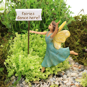 Dancing Fairy & Sign