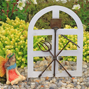 French Garden Gate - White