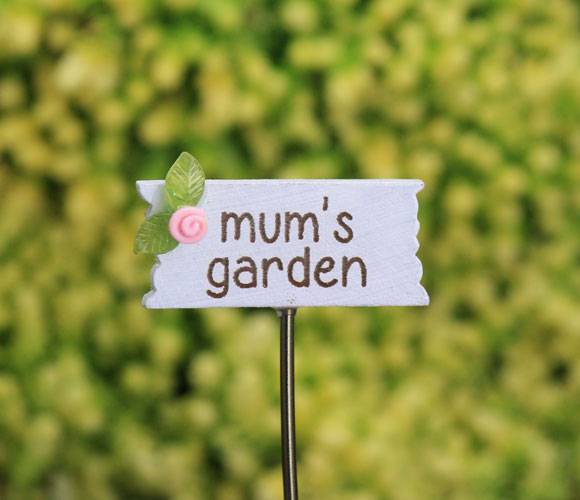 Mum's Garden - Fairy Garden Accessory