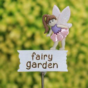 Fairy Garden Miniature Sign Handmade by Jennifer