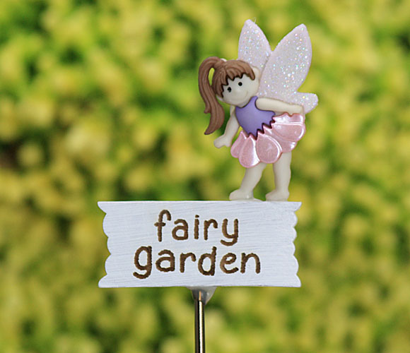 Fairy Garden Miniature Sign Handmade by Jennifer