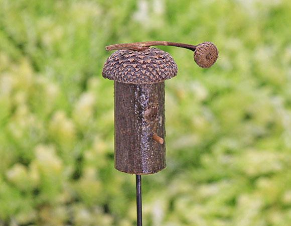 Acorn Cap Birdhouse