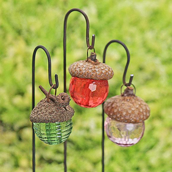 Acorn Cap Lantern, Fairy Garden Accessory