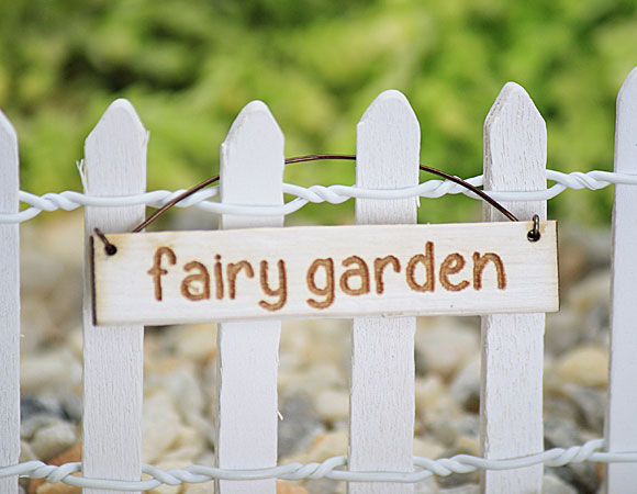 Fairy Garden - Hanging Sign