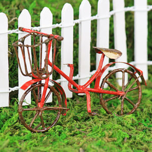 Vintage Bicycle - Red