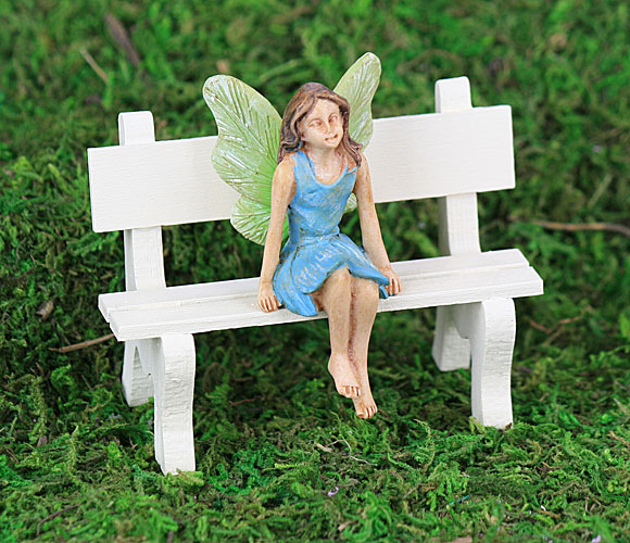 sitting blue fairy