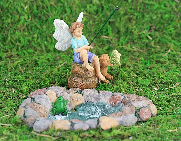 gone fishing fairy