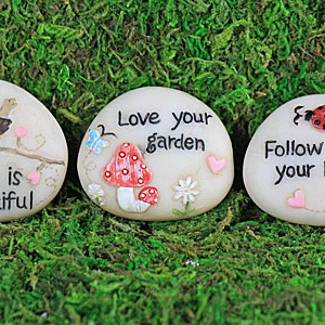 Fairy Garden Pebbles