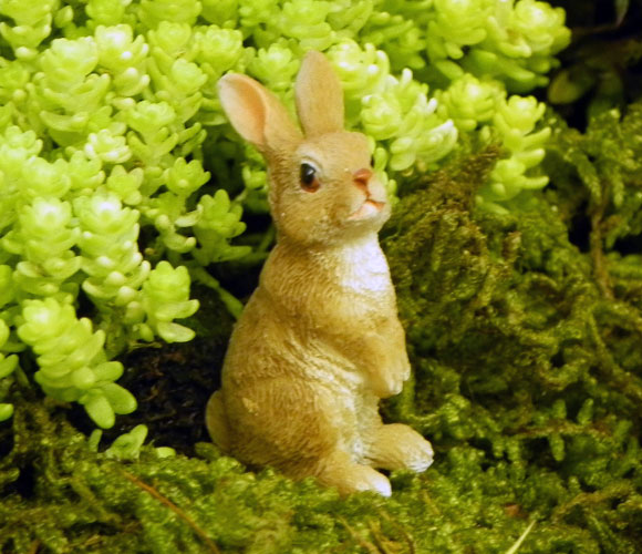 Bunny Family, Fairy Garden Accessory