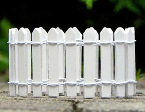 White Picket Fence - Edging