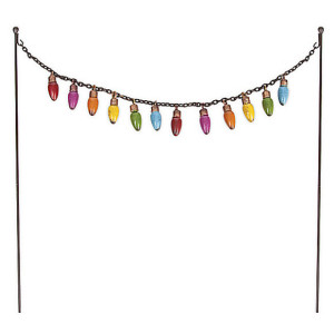 Party Lights and Hanging Hooks - Fairy Garden Accessory