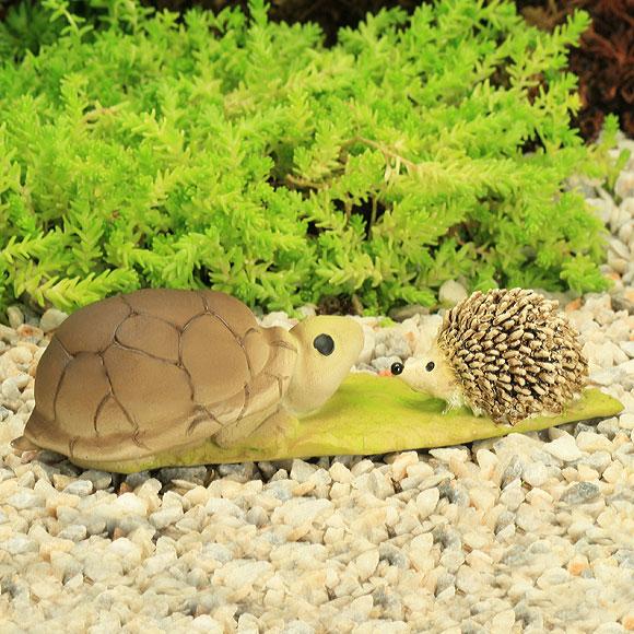 Garden Critters - Tortoise & Hedgehog