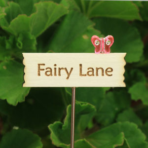 Fairy Lane Sign