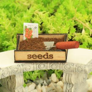 Seed Tray & Trowel