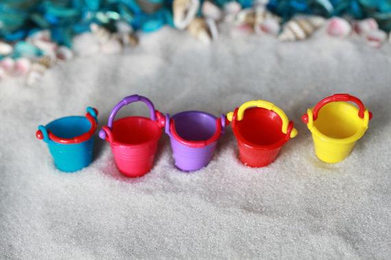 Colourful Beach Bucket