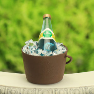 Ice Bucket & water