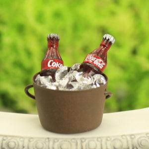 Ice Bucket & Coke