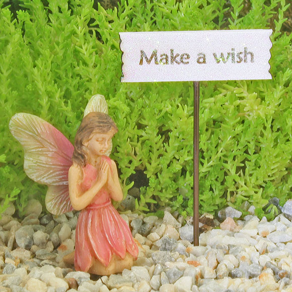 Make A Wish Fairy Sign