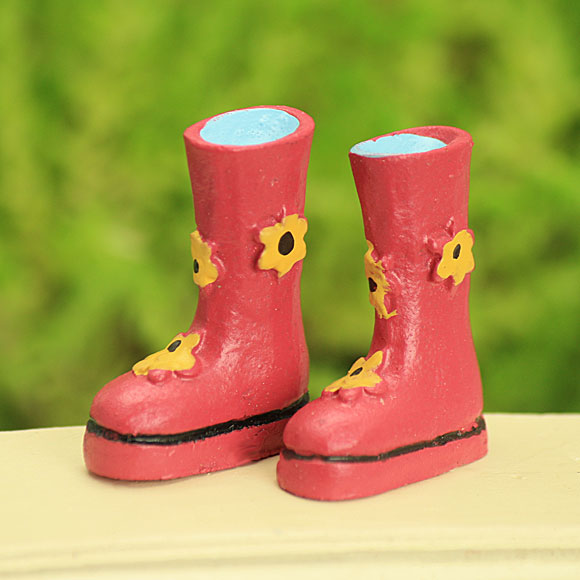 Pink Fairy Wellies