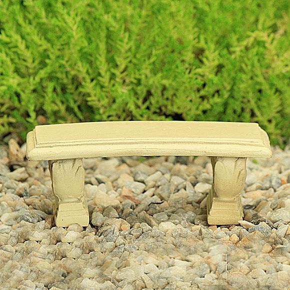 White Stone Bench