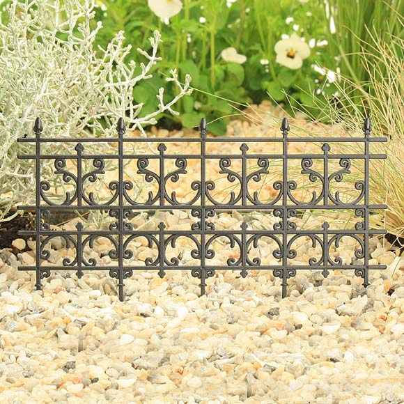 Black Decorative Fence