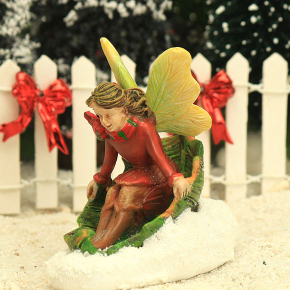 Fairy and Leaf Sled