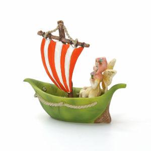 Leaf Sailing Boat