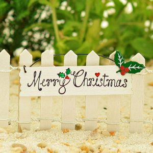 Merry Christmas Sign - Hanging